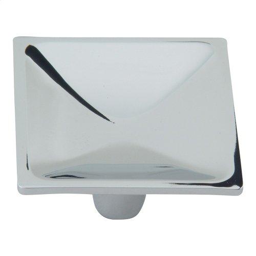 Dap Square Knob 2 Inch - Polished Chrome