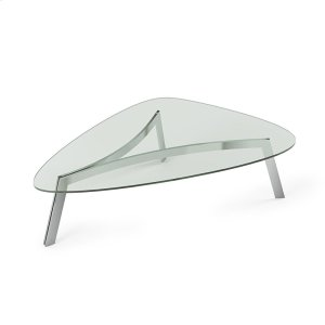 Bdi Furniture1853 Coffee Table in Clear Glass