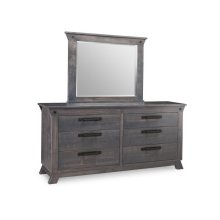 Algoma 6 Drawer Long Dresser
