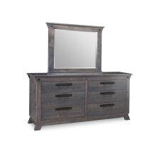 Algoma 6 Drawer Long Dresser