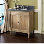 "FAIRMONT DESIGNSRustic Chic 30"" Vanity - Weathered Oak"