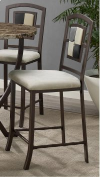 Concorde Upholstered Barstool with 2 Toned Tufted Product Image