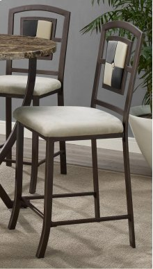 Concorde Upholstered Barstool with 2 Toned Tufted