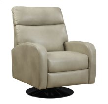 Swivel Recliner Kd Off White