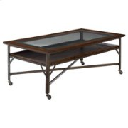 Mercantile Rectangular Cocktail Table Product Image