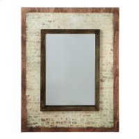 Brick Wall Mirror. Product Image