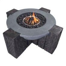 Hades Propane Fire Pit Gray