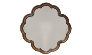 Continental Round Mirror - Weathered Nutmeg