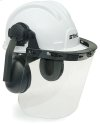 This construction hard hat system meets ANSI requirements and our own standards for quality.