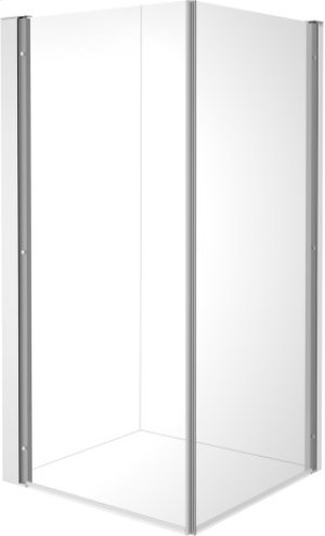Openspace B Shower Screen, Faucet Left Null