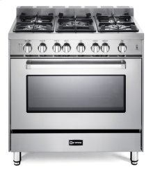 "Stainless Steel 36"" Gas Single Oven Range - 'N' Series"