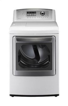 LG 7.4 cu.ft. Ultra-Large Capacity SteamDryer with Color LCD Display and Touch Buttons (Electric)