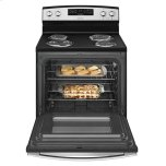 Amana 30-Inch Electric Range With Bake Assist Temps - Black