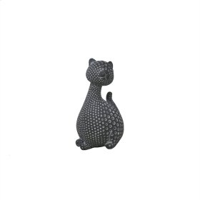 """Gray Spotted Cat 4.5"""""""