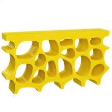 Wander Medium Fiberglass Stand in Yellow