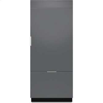 "Jenn-Air(R) 36"" Fully Integrated Built-In Bottom-Freezer Refrigerator (Right-Hand Door Swing), Panel Ready"