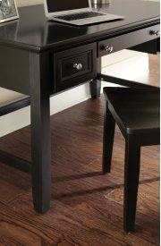 "Oslo Writing Desk, Black 54""x28""x30"" Product Image"