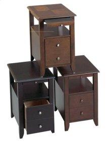 Oak Chair Side Table