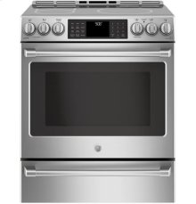 Slide-In Front Control, Induction Oven, 5.6cu ft, PreciseAir convection, Wifi Connected, Self Clean Oven