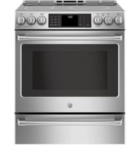Slide-In Front Control, Induction Oven, 5.6cu ft, PreciseAir™ convection, Wifi Connected, Self Clean Oven