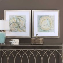 Abstracts Framed Prints, S/2