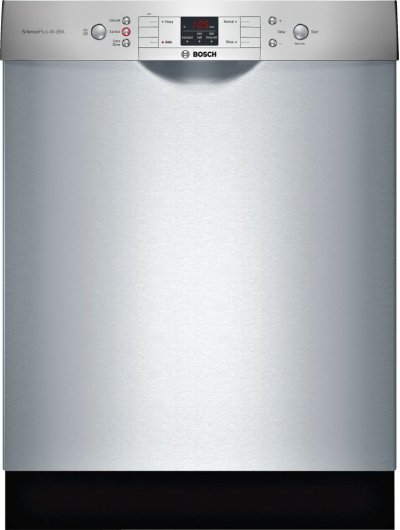 """ADA 24"""" 300 Series Recessed Hndl, 4/4 Cycles, 46 dBA, RckMatic, 14 Pl Stgs - SS Product Image"""