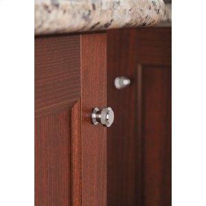 Rothbury chrome drawer knob