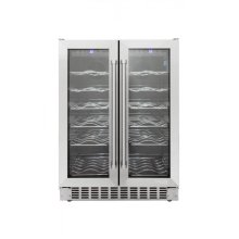 Dual Zone 36 Bottle Wine Cooler