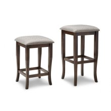 "Yorkshire 24"" Counter Stool With Fabric Seat"