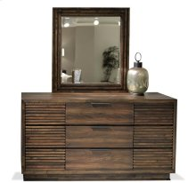 Modern Gatherings II Nine Drawer Dresser Brushed Acacia finish
