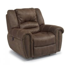 New Town Fabric Power Recliner