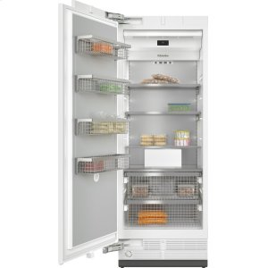 MieleMasterCool™ freezer For high-end design and technology on a large scale.