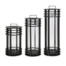 Electra Metal Lanterns - Set of 3