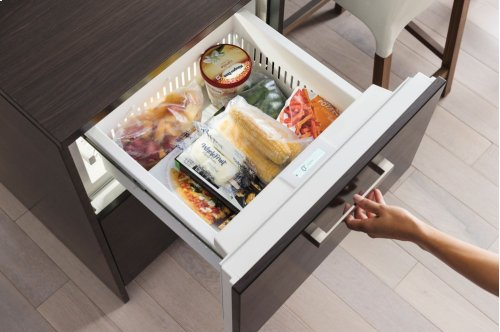 "24"" Freezer Drawers with Ice Maker - Panel Ready"