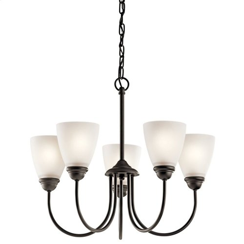 Jolie 5 Light Chandelier Olde Bronze®