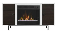 To warm up on a cold night, cozy up to this fireplace to relax and enjoy yo...