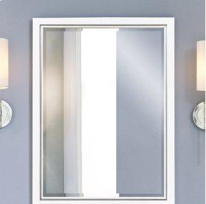 "Metropolitan 24"" Mirror - High Gloss White Product Image"