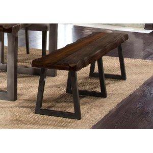 Hillsdale FurnitureEmerson Bench Gray Sheesham