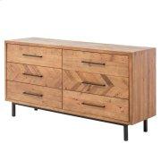 Belfast KD Dresser 6 Drawers, Harbour Brown Product Image