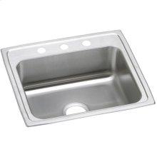 """Elkay Celebrity Stainless Steel 22"""" x 19-1/2"""" x 7-1/8"""", Single Bowl Drop-in Sink"""