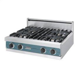 """Iridescent Blue 30"""" Sealed Burner Rangetop - VGRT (30"""" Wide, four burner)"""