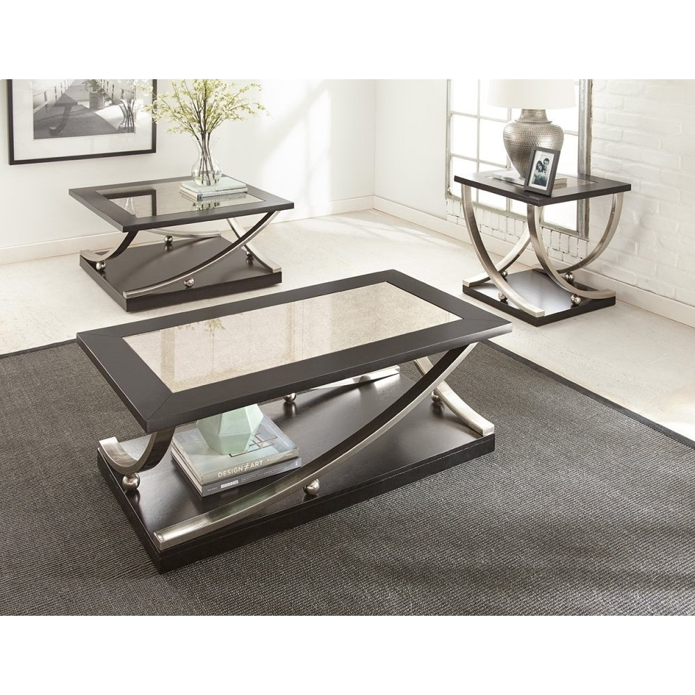 """Ramsey Square Cocktail Table w/ Caster 36"""" x 36"""" x 18"""""""