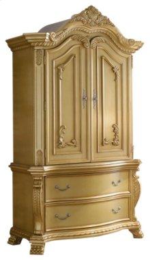Lavish Gold Armoire - 55''L x 25''D x 90''H