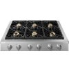 "Dacor Heritage 48"" Rangetop, Liquid Propane, High Altitude"