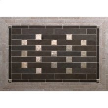 Pixels - Backsplash Silicon Bronze Brushed