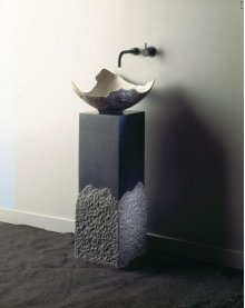Roma Pedestal Honed Basalt