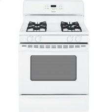 """Hotpoint® 30"""" Free-Standing Gas Range-No damage-Save in the Bargain Basement"""