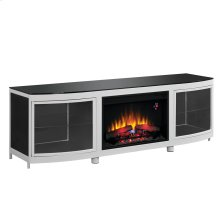 Gotham TV Stand with Electric Fireplace