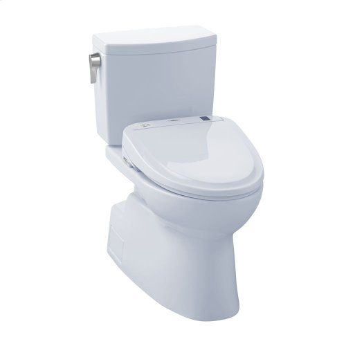 Vespin® II 1G WASHLET®+ S300e Two-Piece Toilet - 1.0 GPF - Cotton