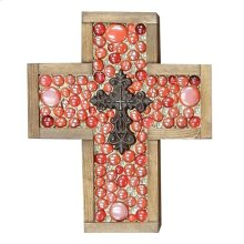 Small Red Jeweled Cross